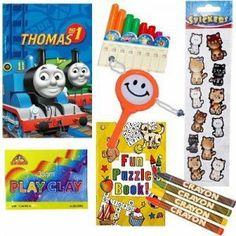 PRE FILLED Thomas the Tank Engine YOUNG CHILDRENS Party Bag (Mixed Toys) by Parteaz, http://www.amazon.co.uk/dp/B002CFVP3M/ref=cm_sw_r_pi_dp_bjp0sb14H7WQ7