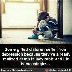 Inevitable, Weird Facts, Kids Gifts, Depression, Death, Children, Life, Strange Facts, Young Children