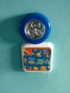 Washi tape interruptor luz niño
