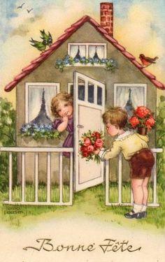 Carte anciennes - Bonne fête