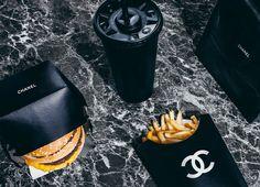 chanel x mcdonalds Street Style Photography, Smoke Photography, Food Photography, Logo Chanel, Chanel Chanel, Chanel Paris, Mademoiselle Coco Chanel, Expensive Taste, All Black Everything