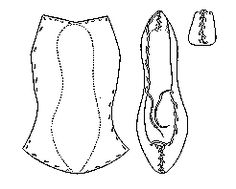 pampootie shoe  Historical Shoe Designs/Number 56