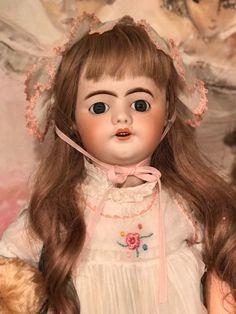 For your consideration Antique ORIGINAL Antique Rare French Jumeau SFBJ depose bisque head Perfect French Doll 55 cm. Bisque head French doll. marked SFBJ DEPOSE on the head. Tall 55 cm. walking body. | eBay!