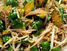 Stir-Fried Beansprouts with Spring Onion Recipe ~ Have a Food