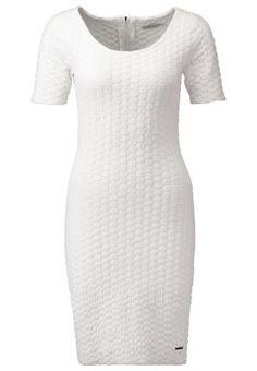 RORY - Gebreide jurk - white