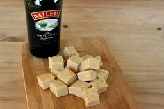 Baileys And White Chocolate Fudge White Chocolate Fudge, Baileys, Sweet Treats, Sweets, Cheer Snacks, Candy