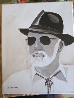 This is a painting of my father - titled: Andy, Dad, Gramps