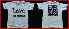Sua Banda predileta vira Camiseta Personalizada !!! By Silkstars ... Especial para Aniversários