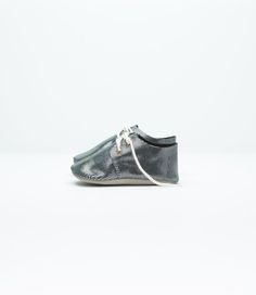 Zuzii baby shoes Oxford Charcoal Micro