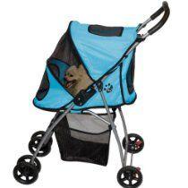 Pet Gear Ice Blue Ultra Light Pet Stroller