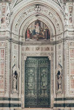 Door in Florence, Italy