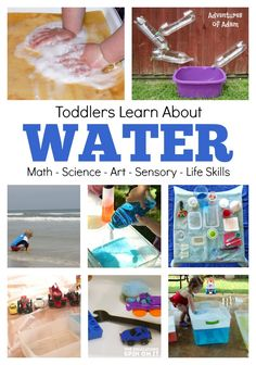 Water Lesson Plan for Toddlers Water Lesson Plan for Toddlers: Art Science Math Sensory Life Skills and MORE! Must read and do! The post Water Lesson Plan for Toddlers appeared first on Toddlers Diy. Science For Toddlers, Lesson Plans For Toddlers, Science Lesson Plans, Preschool Lesson Plans, Preschool Science, Science Lessons, Science Activities, Science Ideas, Water Theme Preschool