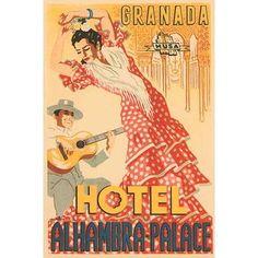 Buyenlarge 'Hotel Alhambra - Palace' Graphic Art