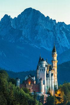 Märchenschloss - fairy tale castle ... Neuschwanstein, Germany, Bavaria