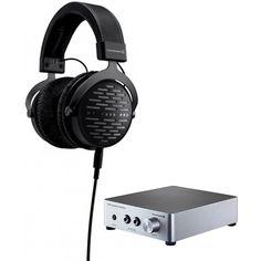 BeyerDynamic DT 1990 PRO 250 Ohm Open Studio Headphones (710490) with BeyerDynamic A20 Headphone Amplifier