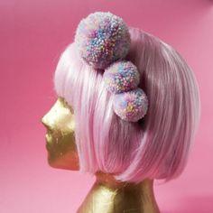 Unicorn Pastel Pompom Headband