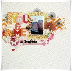 Layout made with Studio Tekturek papers as DT for Skissedilla :)