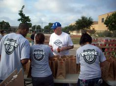 Coach Pop and SS POSSE Team Up with the Food Bank: Photo Gallery