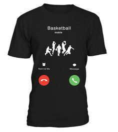 BASKETBALL IS CALLING Funny Basketball T-shirt, Best Basketball T-shirt