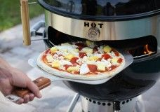 KettlePizza Turns Your Kettle Grill Into A Wood Fire Pizza Oven