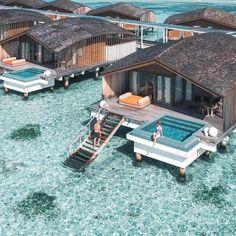 Club Med Finolhu Villas # Malediven Foto Brad Jarman Kiara King … - Vacation To World - Reisen - Honeymoon Destinations, Holiday Destinations, Holiday Places, Dream Vacations, Vacation Spots, Jamaica Vacation, Romantic Vacations, Good Vacation Places, Vacation Villas