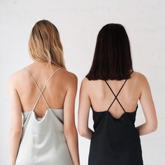 loose criss cross steal dresses | summer wear | blondes & brunettes