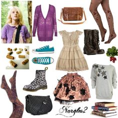 Luna Lovegood by vintagechic93xo on Polyvore featuring Look From London…