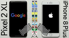 Google Pixel 2 XL (Snapdragon 835 UFS 2.1) vs. iPhone 8 Plus (A11 Bionic NVMe) - PhoneBuff Style Speed Test