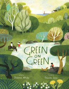 Buy Green on Green by Dianne White, Felicita Sala and Read this Book on Kobo's Free Apps. Discover Kobo's Vast Collection of Ebooks and Audiobooks Today - Over 4 Million Titles! Book Cover Art, Book Cover Design, Book Design, Youtube Cover, Fashion Magazin, Children's Book Illustration, Illustration Children, Animal Illustrations, Design Illustrations