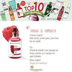 Nuestro Top ten, de Yves Rocher, informes vendeyvesrocher@gmail.com