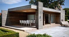 Add Style to Your Pergola Outdoor Rooms, Patio Design, Pergola Designs, Outdoor Shutters, Home Garden Design, Luxury Garden Design, Modern Pool House, Country Modern Home, House Exterior
