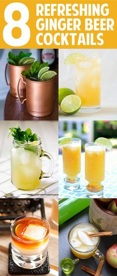 8 Easy and Refreshing Ginger Beer Cocktails You Need to Know