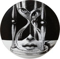 Isaac tichauer white home decor, eye art, art dolls, black and white plates Psychedelic Art, Art Inspo, Black And White Plates, Black White, Piero Fornasetti, Arte Obscura, Eye Art, Art Plastique, Hourglass