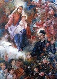 St John Bosco, Diy Clothes Videos, Catholic Saints, Religion, Snoopy, Faith, Painting, Christian Pictures, Religious Pictures