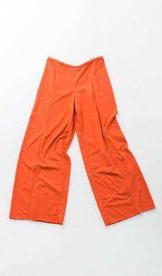 Edna Pants - single layer, center seams, straight leg