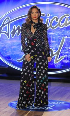 Jennifer Lopez's Head-to-Toe Looks from Seasons 14 and 15 of American Idol - September 13, 2015 - from InStyle.com