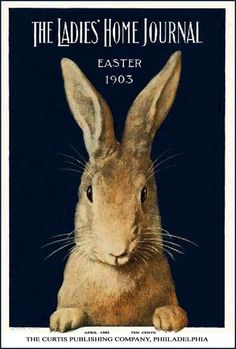 Ostern 1903 von Frank S. Guild Easter 1903 by Frank S. Guild Ostern 1903 von Frank S. Easter Art, Easter Bunny, Happy Easter, Rabbit Illustration, Illustration Art, Lapin Art, Rabbit Art, Rabbit Crafts, Bunny Art