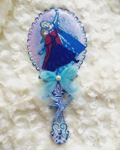A personal favorite from my Etsy shop https://www.etsy.com/listing/294847123/handmade-frozen-vanity-mirror-princess