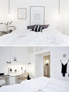 Scandinavian interiors - bedroom