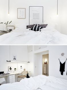 Scandinavian interiors - bedroom