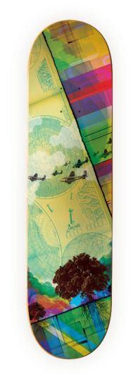 Clifford Design / Illustration / Photography - Skate Decks