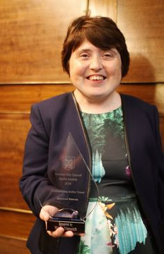 Congratulations to Suzanne Reeves who was awarded the Championing Active Travel Award 2014 at the Norwich Sports Awards for her work promoting walking!
