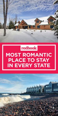 Including quaint bed and breakfasts, luxury resorts, remote campgrounds, and yurts (yes, really).