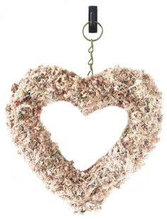 Sphagnum Moss Heart Wreath Form