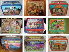 vintage lunch boxes : Old Sweet Song