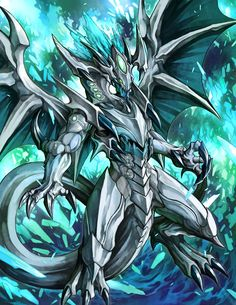Mythical Creatures Art, Fantasy Creatures, Dark Fantasy Art, Fantasy Artwork, Yugioh Dragons, Ultimate Dragon, Yugioh Monsters, Dragon Warrior, Spaceship Art
