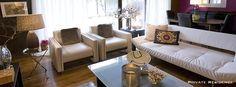 We love this Leslie Ezelle designed living room