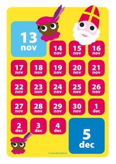 Leuke aftelkalender!