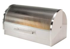 OGGI Stainless Steel Roll Top Bread Box $44.95 TOTAL PRICE...LOWEST PRICE GUARANTEE...PICK UP OR WE WILL SHIP FREE WORLDWIDE...100% MONEY BACK SATISFACTION GUARANTEED...WEBSITE: www.shopculinart.com