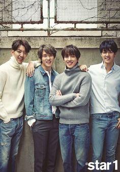 CNBLUE for @star1 Korean magazine November issue - Teaser